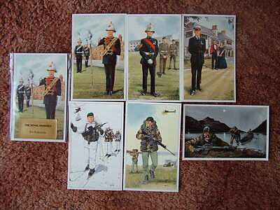 THE ROYAL MARINES.  6 card set.  Mint Condition