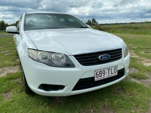 2008 Ford Falcon FG XT White 5 Speed Auto Seq Sportshift Sedan Applethorpe Southern Downs Preview