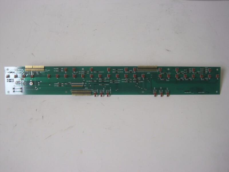 ABI 433A PEPTIDE SYNTHESIZER 603209 SIGNAL DISTRIBUTION PRINTED CIRCUIT BOARD