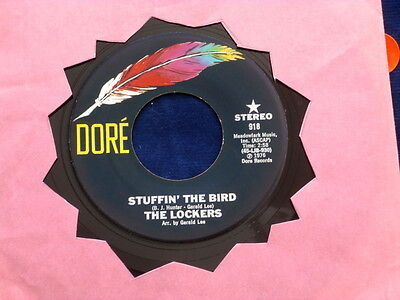 LOCKERS~ STUFFIN THE BIRD~ KILLER FUNK~ DORE~ RARE LABEL~ ~ SOUL 45