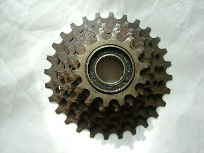 14-28 1980s NOS SHIMANO UNIGLIDE 6-SPEED CASSETTE RARE w// BLEMISHES