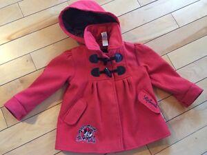 Toddler Girl's Dress Coat