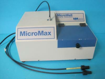Jobin Yvon Spex Micromax Spectrofluorometer Microwell Micro Plate Reader 90 Well