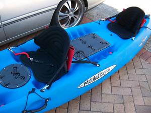 2 seater malibu kayak blue Calamvale Brisbane South West Preview