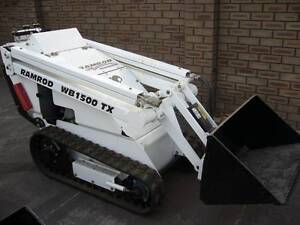 REDUCED TO CLEAR Ramrod Skid steer Narrow Track Digger Eden Hill Bassendean Area Preview