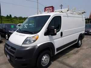 2016 RAM ProMaster 1500 Low Roof 3.0L 4CYL DIESEL !!! LADDER...