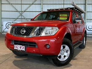 2010 Nissan Pathfinder R51 MY10 ST Red 5 Speed Sports Automatic Wagon