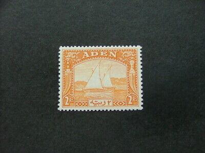 Aden 1937 2r yellow SG10 LMM