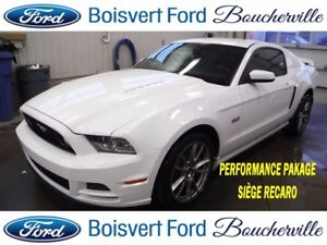 2014 Ford Mustang GT PERFORMANCE PACKAGE ET RECARO