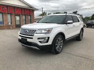 2017 Ford Explorer Platinum 4x4 Navi Roof Massage Seats
