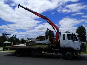 Mitsubishi 8 Tonne Crane Truck. Welshpool Canning Area Preview