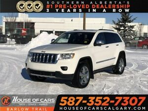 2011 Jeep Grand Cherokee Overland / Heated and cooled leather se