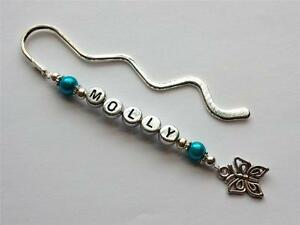 Personalised bookmark- thank you gift for teachers, birthdays or stocking filler