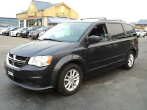 2014 Dodge Grand Caravan SXT Stow-N-Go 3.6L DVD BackUpCamera