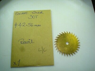 Clock Longcase Escape Wheel.