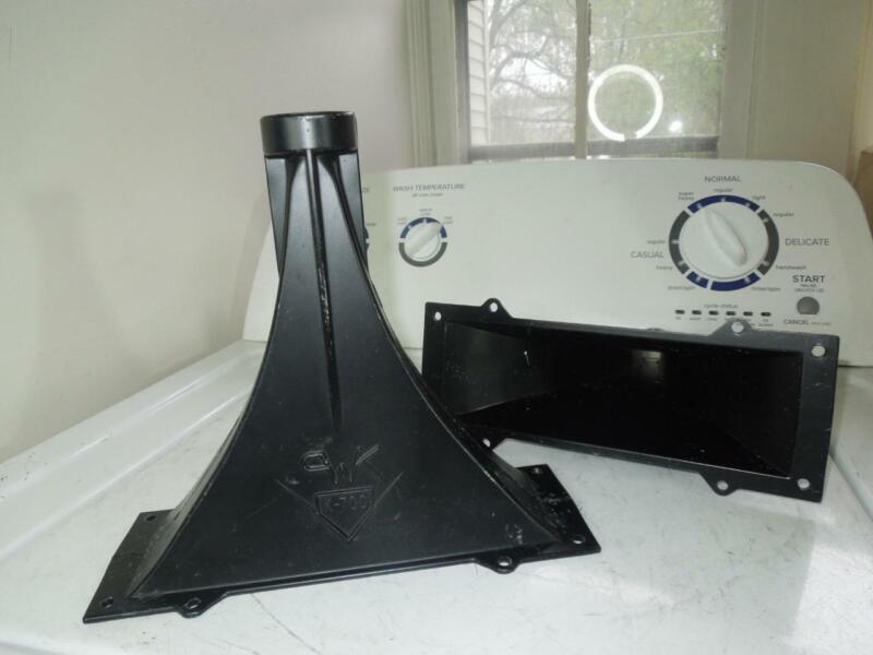 Pair of 2 Klipsch K-700 / K700 8-Screw Mount Speaker Horns w/OUT Gaskets