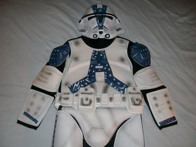 501st Clone Trooper Belt Mask Star Wars Halloween Cosplay Boys Medium used (Clone Trooper Cosplay)