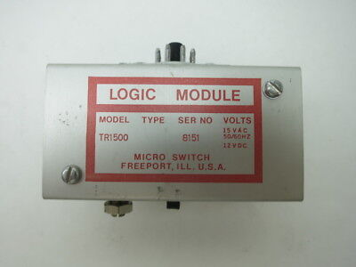 Micro Switch Tr1500 Logic Module
