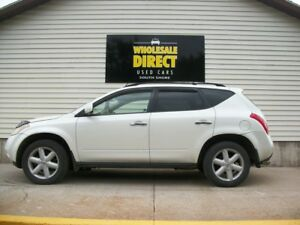 2003 Nissan Murano ALL WHEEL DRIVE WITH LEATHER AND SUNROOF