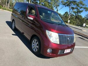 2004 Nissan Elgrand E51 Series 2 Red 5 Speed Automatic Wagon Arundel Gold Coast City Preview