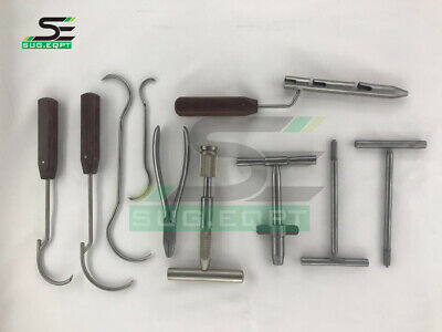Wire Tightener Wire Passer K Wire Set 10 Pcs Orthopedic Instruments By Sug.eqpt