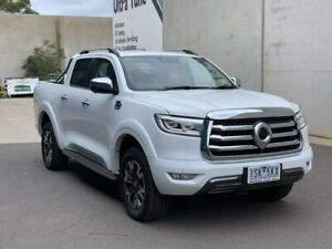 2020 GWM Ute White Sports Automatic Utility Hoppers Crossing Wyndham Area Preview