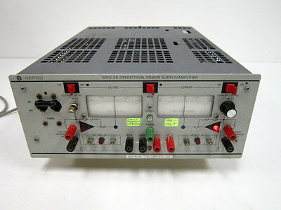 Kepco Bop 36-6m Bipolar Operational Power Supply Amplifier 36v 6a