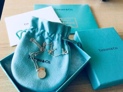 Tiffany sterling silver necklace(was $445 with receipt)