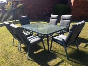 7 Pieces outdoor setting, table& chairs, great condition Rochedale South Brisbane South East Preview