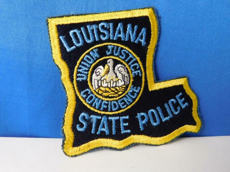 LOUISIANA STATE POLICE UNION JUSTICE CONFIDENCE PATCH BADGE SOUVENIR COLLECTOR