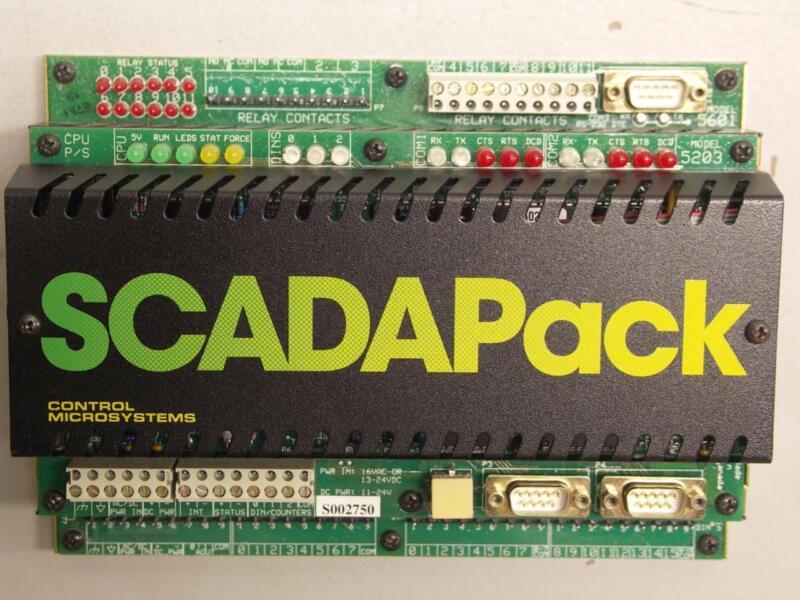 Schneider Electric Control Microsystems SCADAPack 5203 5601 PLC Controller