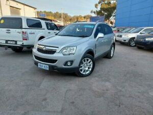 2012 Holden Captiva CG Series II MY12 5 AWD Silver 6 Speed Sports Automatic Wagon Fyshwick South Canberra Preview
