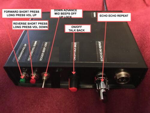 NOISE TOY ROGER BEEP ECHO REPEAT TALKBACK 4 pin Cobra CB  SD Card programable