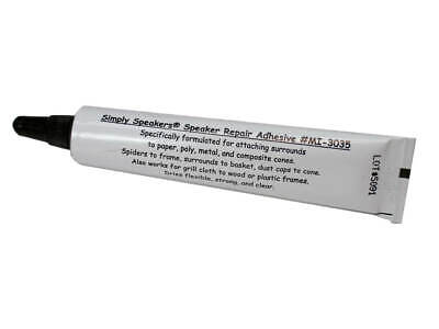 Speaker Repair Adhesive, Foam Edge, Spider, High Strength, MI-3035
