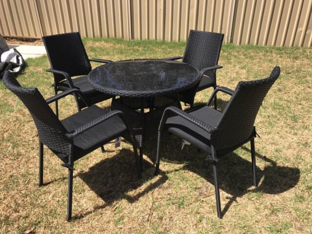 Outdoor Furniture Outdoor Setting Dining Set 5 Pieces Outdoor Dining Furnit