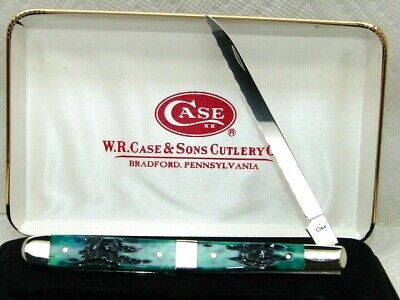 CASE XX USA,2012, 6100 MELON TESTER STEAK KNIFE, CIGAR BAND & KY BLUEGRASS BONE
