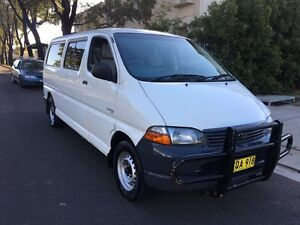 2003 Toyota Hiace SBV LWB 5 Seats Manual Van 6moths Rego Liverpool Liverpool Area Preview