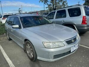 2002 Holden Commodore VY Berlina Silver 4 Speed Automatic Wagon