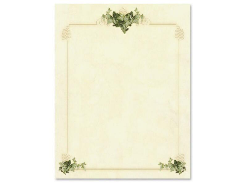 Geographics Ivy Corners Letterhead Paper