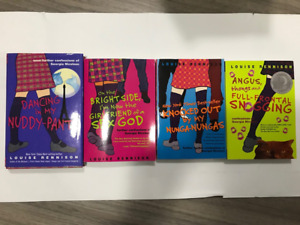 Louise Rennison's four books