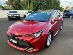 2020 Toyota Corolla ZWE211R Ascent Sport E-CVT Hybrid Red 10 Speed Constant Variable Sedan Hybrid