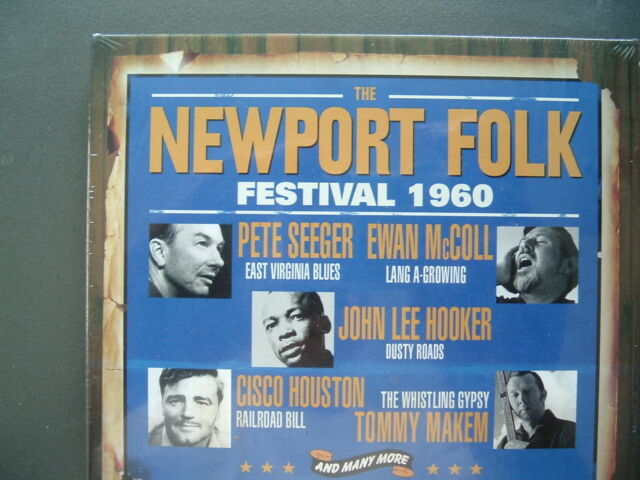The Newport Folk Festival 1960, Neu OVP, 3 CD Set, 2012