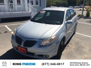 2007 Pontiac Vibe BASE w/ AIR SPORTY STYLE..SPORTY MANUAL TRANS.