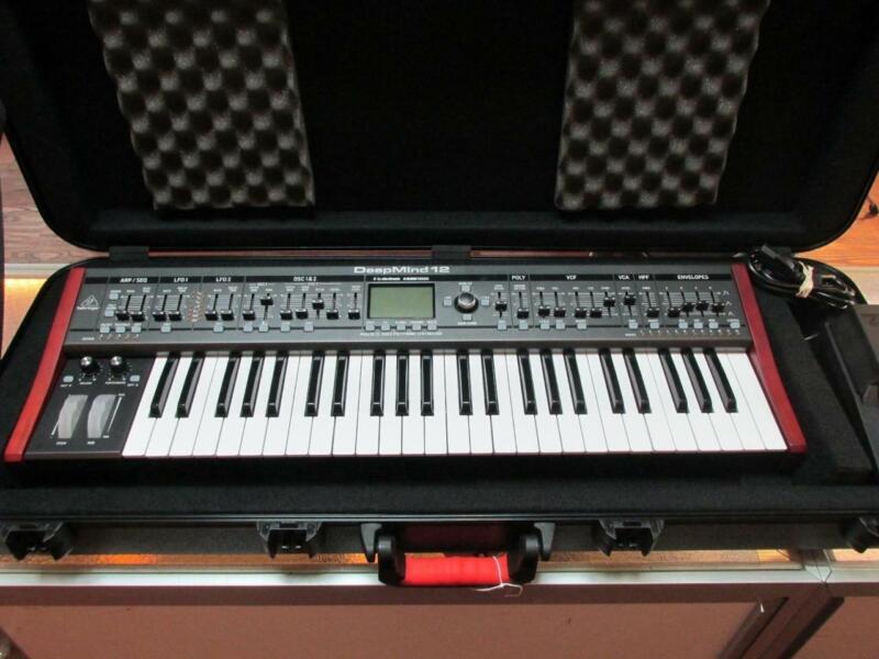 Behringer Deepmind 12 49-Key Polyphonic Analog Synthesizer with Gator Hard Case