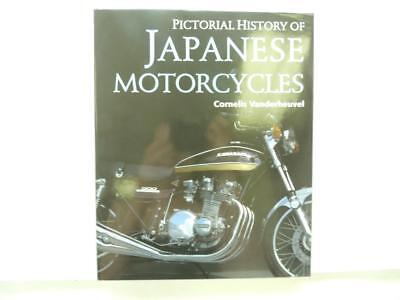 New Pictorial History Of Japanese Motorcycles Cornelis Vanderheuvel Book B1675