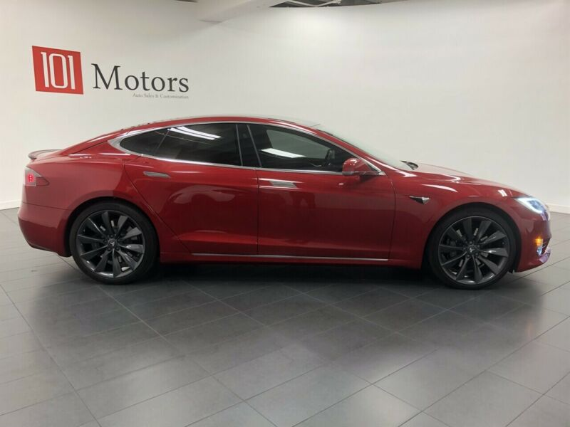 Image 3 Coche Americano usado Tesla Model S 2017