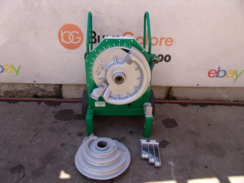 Greenlee 555 1/2-2 inch Pipe Bender Rigid EMT or IMC. Comes with Rigid Shoes