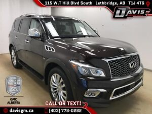 2015 Infiniti QX80 Limited 7 Passenger HEATED/COOLED LEATHER,...