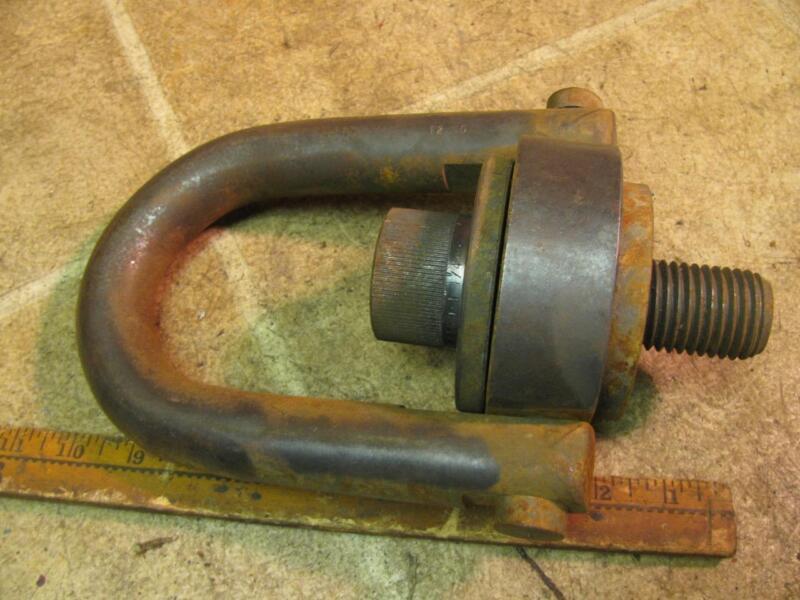 """1 1/8""""-7 Swivel Hoist Ring 15,000 lb Rated Load Lifting Eye Bolt"""