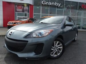 2012 Mazda Mazda3 GS-SKY/HATCHBACK/TOIT OUVRANT/AIR CLIMATISÉ/MA